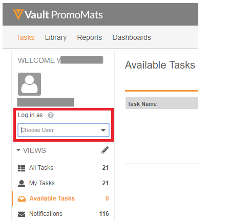How To Login As A Colleague Delegate Access In Promomats Veeva Product Support Portal
